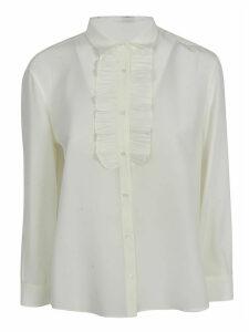 Aspesi Ruffled Bib Shirt