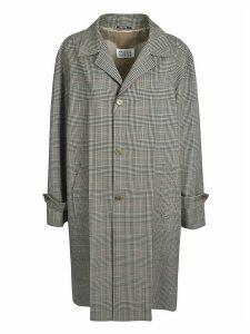 Maison Margiela Oversize Checked Coat