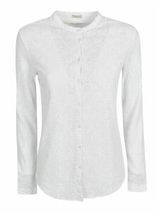 Massimo Alba Perforated Shirt