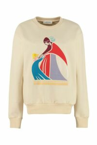 Lanvin Printed Cotton Sweatshirt