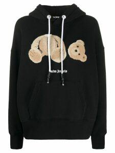 Palm Angels bear hoodie - Black