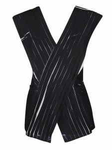 3.1 Phillip Lim Black Pleated Top