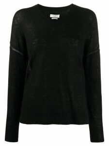 Isabel Marant Étoile v-neck jumper - Black