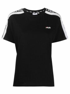 Fila logo band crew-neck T-shirt - Black