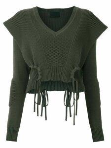 Andrea Bogosian Roxan knitted blouse - Green