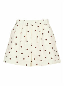 Ganni Cotton Shorts
