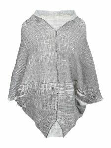 PierAntonioGaspari Pleated Cape Sweater