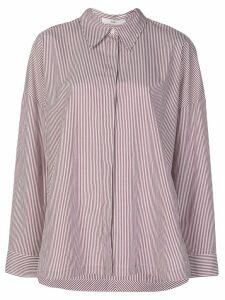 Tibi oversized striped shirt - White