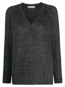 Gentry Portofino chunky knit jumper - Grey