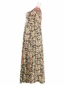 Stella McCartney Louisa floral midi dress - Black