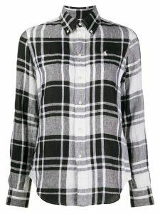Ralph Lauren checked logo shirt - Black