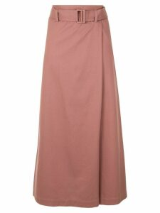 Tomorrowland belted high-waisted skirt - PINK