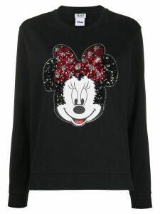 LIU JO embellished Minnie Mouse T-shirt - Black