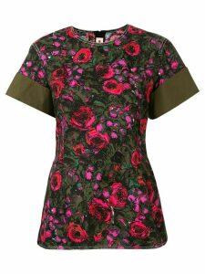 Marni floral print blouse - Green