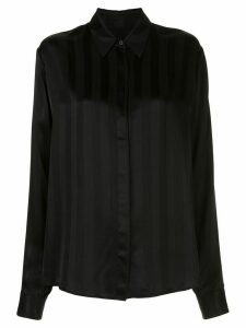 RtA layered panel shirt - Black