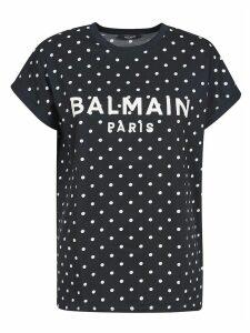 Balmain Dotted Print T-shirt