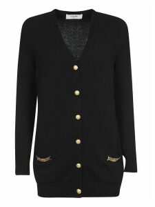 Celine Mid-length Buttoned Cardigan