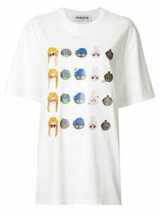 Ground Zero oversized graphic T-shirt - White