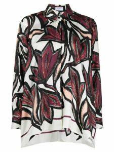 Salvatore Ferragamo floral print shirt - White