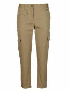 Dolce & Gabbana Beige Cotton Trousers