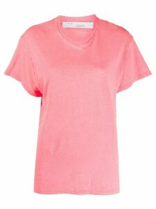 IRO Hinton loose fit T-shirt - PINK