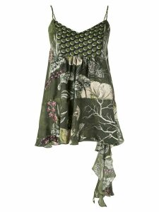 Biyan all-over print top - Green