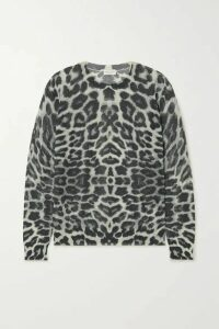 Dries Van Noten - Jelle Leopard-print Cotton-blend Sweater - Leopard print