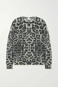 Dries Van Noten - Jelle Leopard-print Cotton-blend Sweater - Leopard print