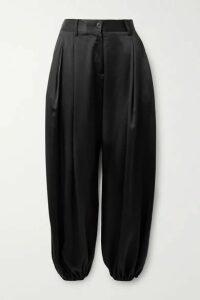 Nili Lotan - Lisbon Silk-charmeuse Pants - Black