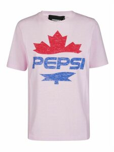 Dsquared2 Pink Cotton Pepsi T-shirt