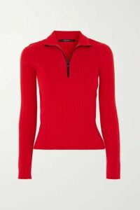 Ksubi - Synth Ribbed Cotton-blend Sweater - Red