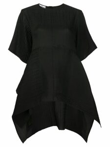 Co oversized peplum blouse - Black