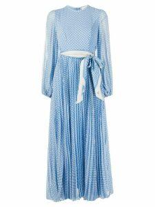 Zimmermann polka-dot print dress - Blue