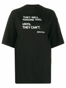 Palm Angels statement-print oversized T-shirt - Black