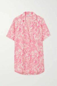 Faithfull The Brand - Charlita Tie-dyed Linen Shirt - Pink