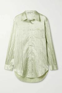 Acne Studios - Cloqué Shirt - Mint