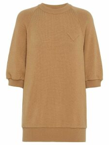 Prada short sleeve jumper - Brown