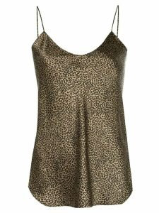 Nili Lotan Isabella silk cami top - Brown