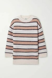 Acne Studios - Striped Knitted Sweater - Neutral