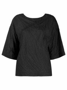 Raeburn panelled T-shirt - Black