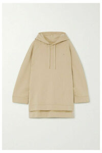 Holzweiler - Sissel Oversized Embroidered Cotton-jersey Hoodie - Beige