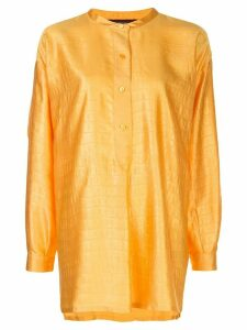 Sies Marjan textured satin shirt - ORANGE
