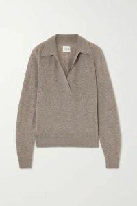 Khaite - Jo Cashmere-blend Sweater - Beige
