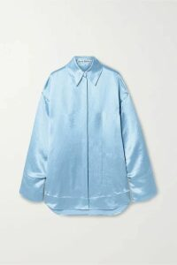 Acne Studios - Charmeuse Shirt - Sky blue