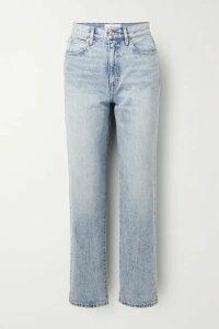 SLVRLAKE - Dakota High-rise Straight-leg Jeans - Light denim