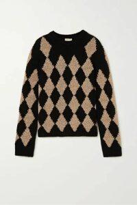 Khaite - Penny Argyle Cashmere-blend Sweater - Tan