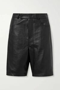 Deadwood - Boi Leather Shorts - Black