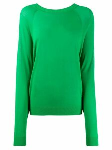 P.A.R.O.S.H. back tie fastened jumper - Green