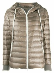 Herno hooded puffer jacket - NEUTRALS