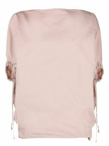 Nº21 gathered sleeves blouse - PINK